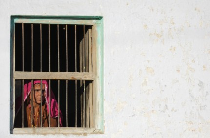 Behind bars, Pushkar