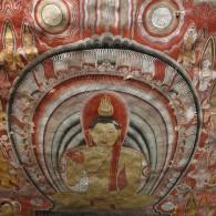 Cave ceiling fresco, Dambulla