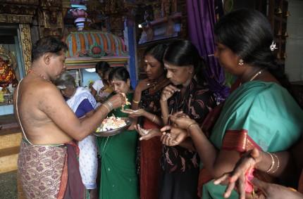Hindu ritual, Trincomalee