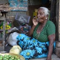Street vendor, Jaffna