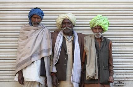 Rajasthani pilgrims, Madurai