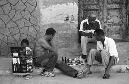 Street chess, Havana